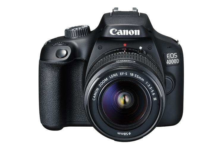 """«Зеркалка» Canon EOS 4000D получила 18-Мп датчик APS-C"""""""