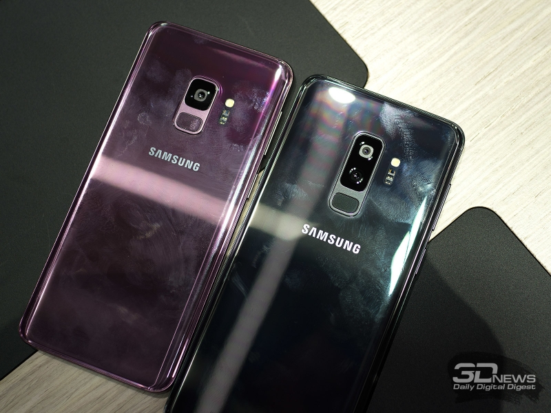 Маркие корпуса Samsung Galaxy S9 и S9+ во всей красе