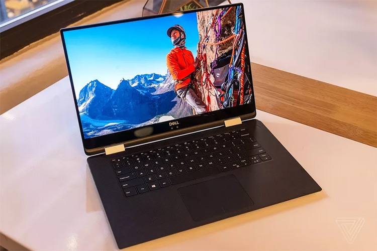 «2-в-1» Dell XPS 15 на базе CPU/SoC Intel Kaby Lake-G, фото theverge.com