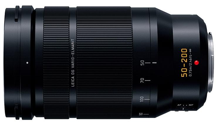 Представлен объектив Panasonic Leica DG Vario-Elmarit 50-200mm