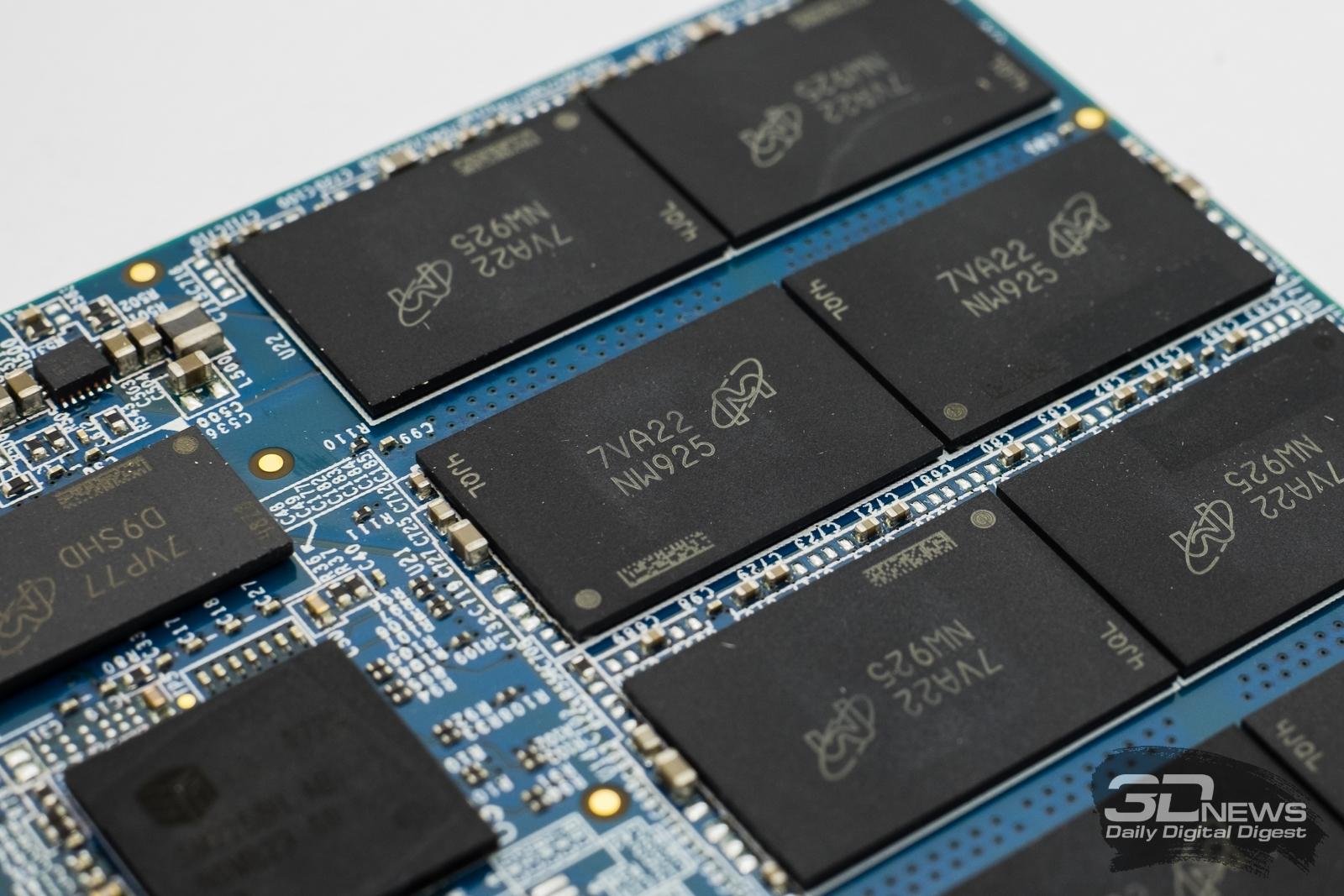Обзор SATA SSD-накопителя Crucial MX500: повод сэкономить / Накопители