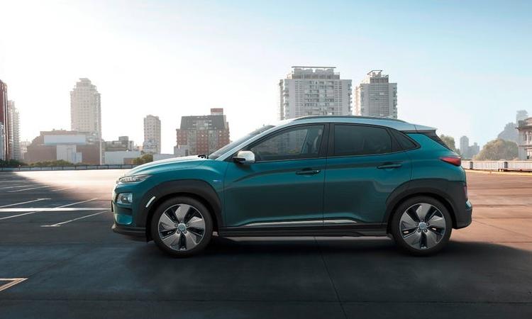 "Кроссовер Hyundai Kona Electric обладает запасом хода до 470 км"""