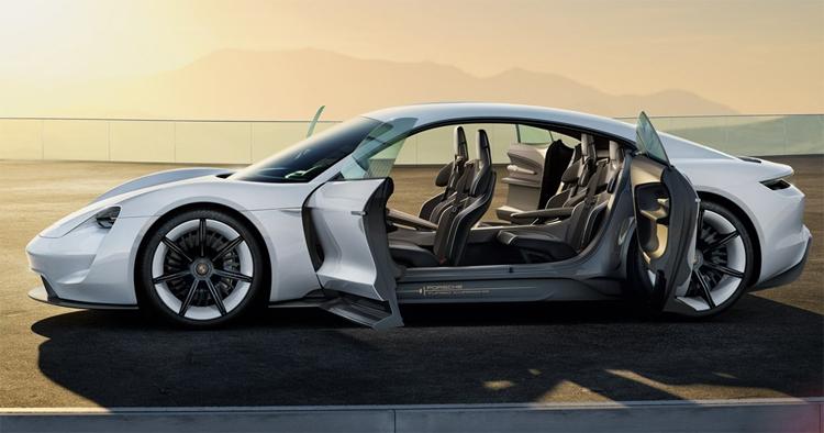 """Porsche создаст для электрокара Mission E сеть станций быстрой зарядки"""""""