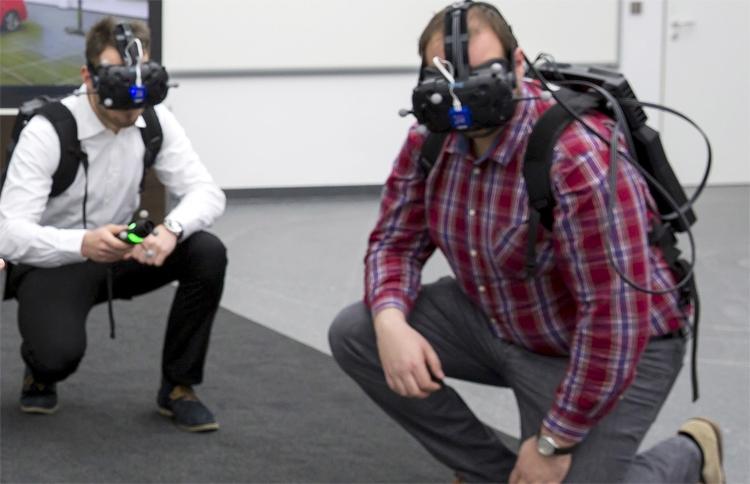 """VR-симулятор Audi holodeck ускорит процесс создания новых автомобилей"""""""