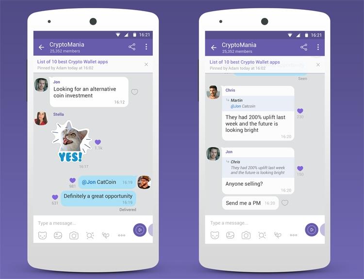 """Сообщества в Viber объединят до миллиарда пользователей"""""""