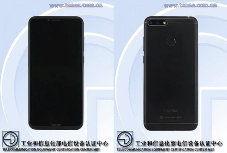 TENAA: новый Huawei идва бюджетных телефона Honor