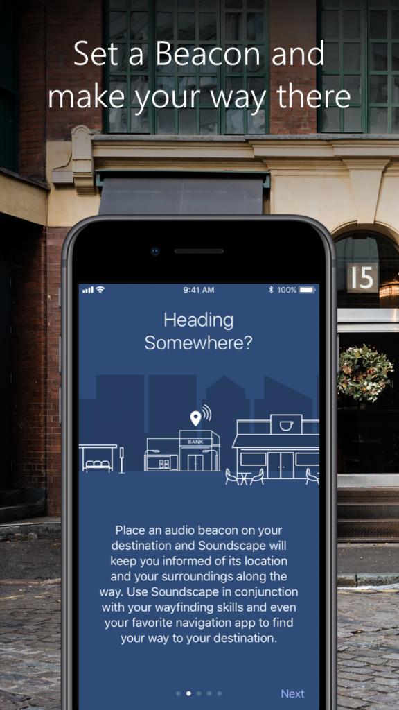"""Новое приложение Microsoft помогает слепым перемещаться по улицам города"""""""
