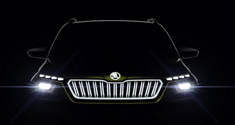 """Силовая установка концепта Škoda Vision X работает на газе, бензине и электричестве"""""""