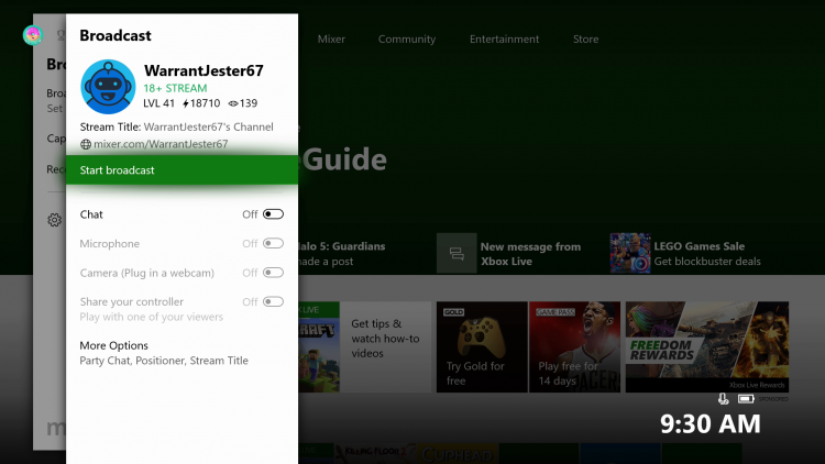 """Весеннее обновление Xbox One: играй на Mixer вместо стримера, поддержка 1440p, свежий Microsoft Edge и другое"""""""