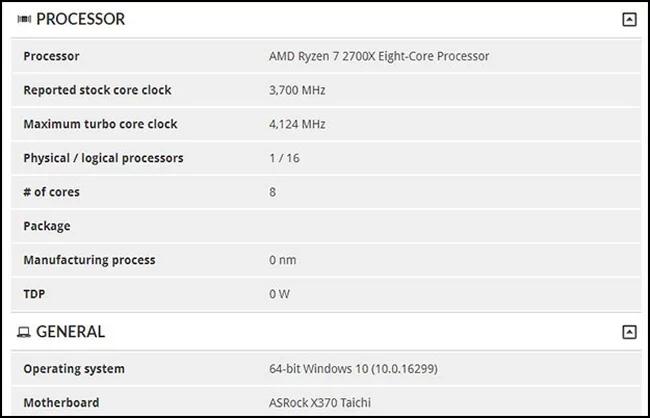 ryzen2 - Замечен процессор AMD Ryzen 7 2700X: промежуточное поколение Zen на подходе
