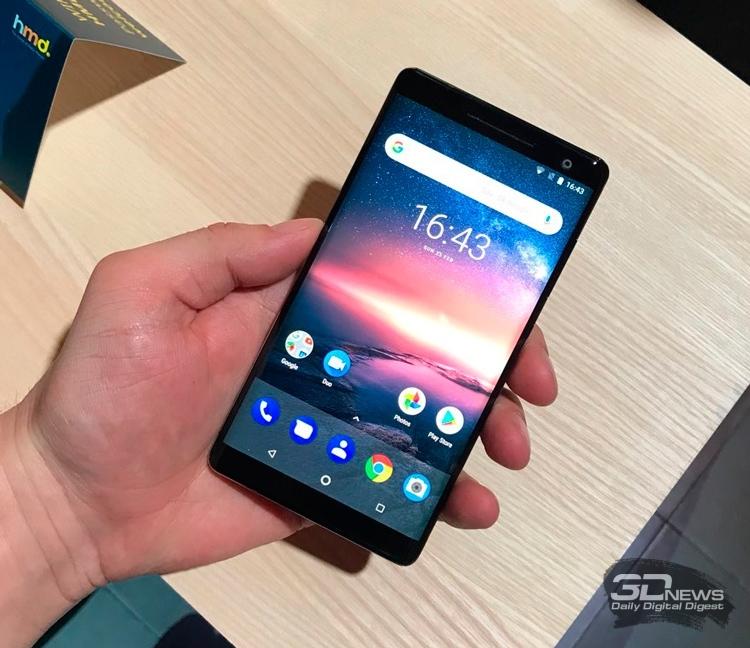 Nokia 8 Sirocco на MWC 2018