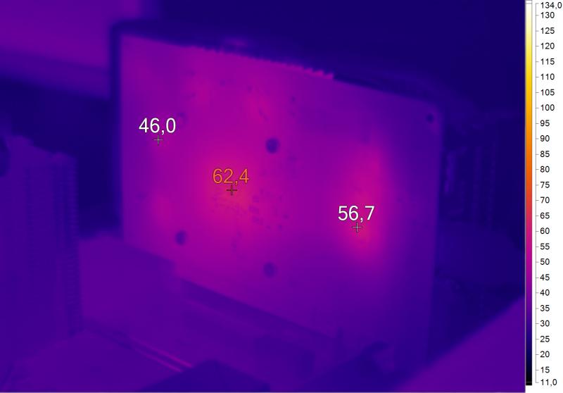 Нагрев ASUS DUAL-GTX1050-O2G-V2