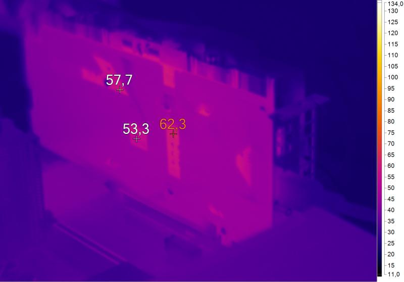 Нагрев ASUS STRIX-GTX1050-O2G-GAMING