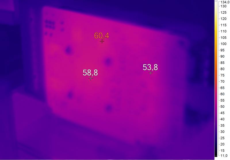 Нагрев Inno3D N1050-1DDV-E5CM