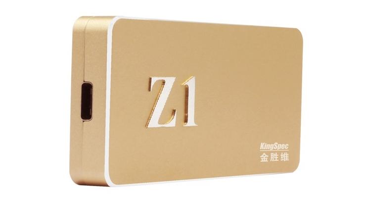 ssd1 - KingSpec Z1: портативный SSD-накопитель с портом USB 3.1 Type-C