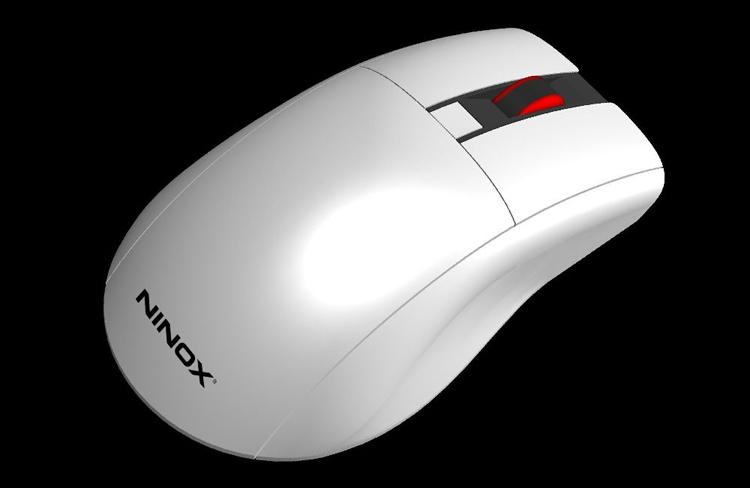 """Корпусные панели мыши Ninox Astrum можно создавать методом 3D-печати"""""""
