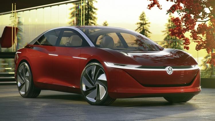 "Электрокар на основе концепта Volkswagen I.D. Vizzion выйдет к 2022 году"""