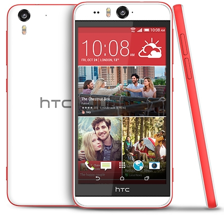 HTC Desire Eye был анонсирован в 2014 году, но до сих пор считается лучшим селфи-камерофоном