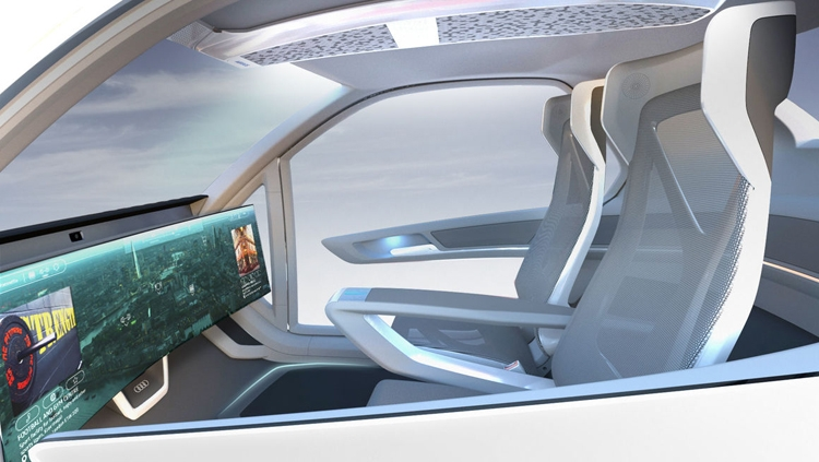 "Фото дня: гибрид робомобиля и дрона в представлении Audi, Italdesign и Airbus"""