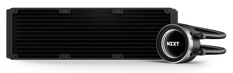 NZXT Kraken X72: система жидкостного охлаждения с 360-мм радиатором