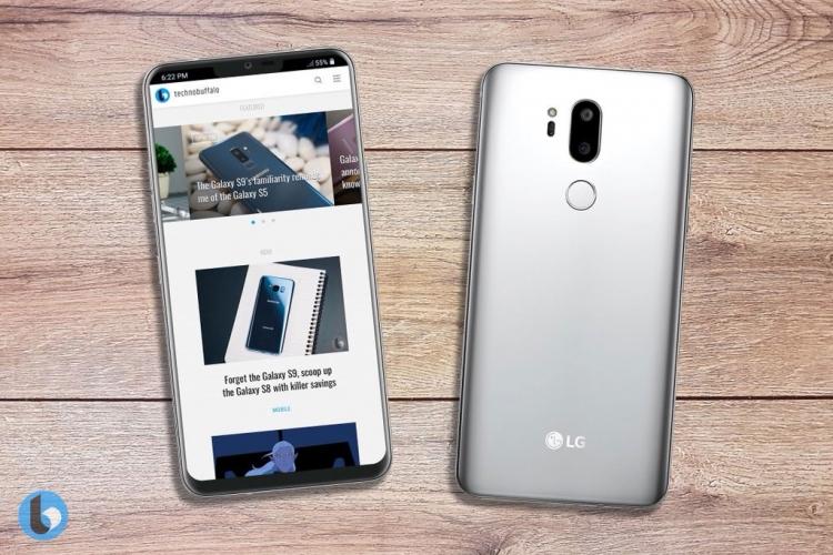 """Рендеры LG G7 Neo — смартфон может стать лучшим клоном iPhone X"""""""