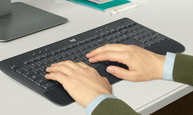 """Logitech MK545 Advanced: клавиатура и мышь с беспроводным подключением к ПК"""""""