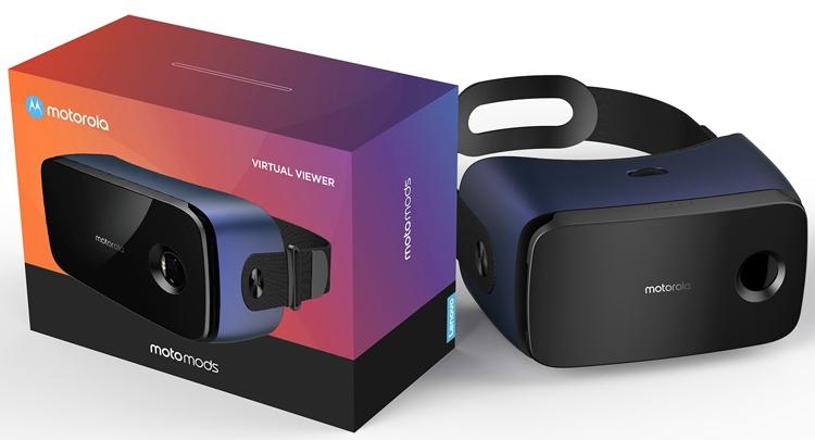 """Новый аксессуар Moto Mods превратит смартфон в VR-шлем"""""""