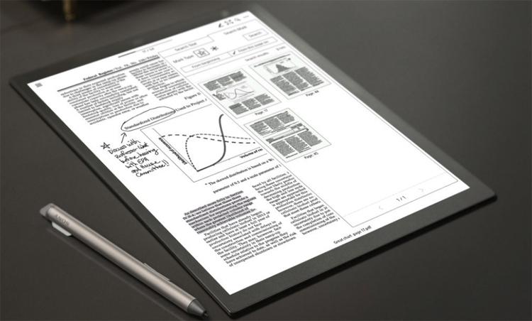 """Sony проектирует новое устройство с экраном E Ink"""""""