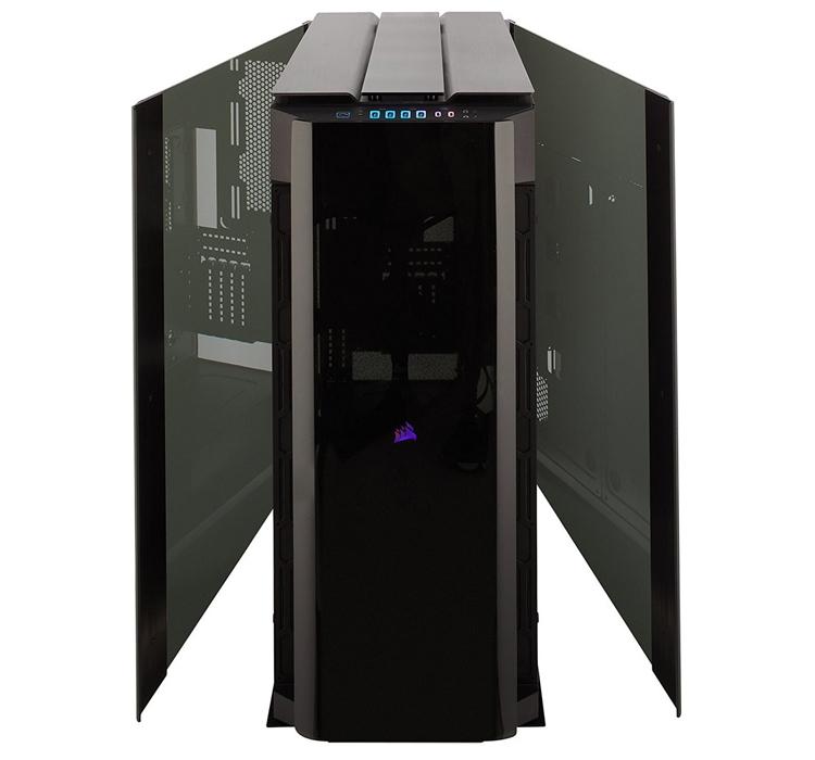 Корпус Corsair Obsidian 1000D позволит использовать видеокарты длиной до 400 мм