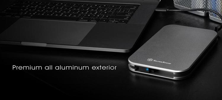 "SilverStone MMS02: корпус с защитой для жёсткого диска формата 2,5"""""