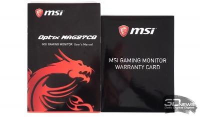 Обзор игрового WQHD-монитора MSI Optix MAG27CQ: магия цифр