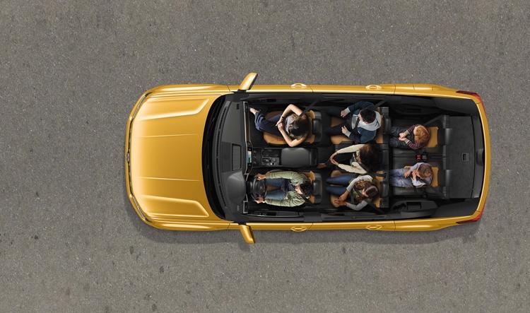 """Внедорожник Volkswagen Teramont доступен для заказа по цене от 2,8 млн рублей"""""""