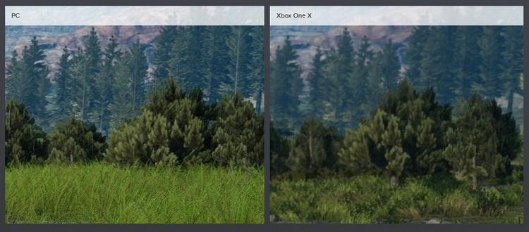 В 4К на самых высоких настройках PC-версия выглядит намного чётче и детализированнее. Растительность видна на большем расстоянии, а TurfEffect делает траву гуще.