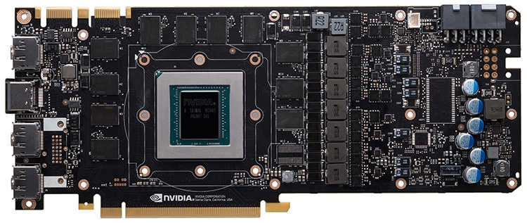 Референсная печатная плата GeForce GTX 1080 Ti