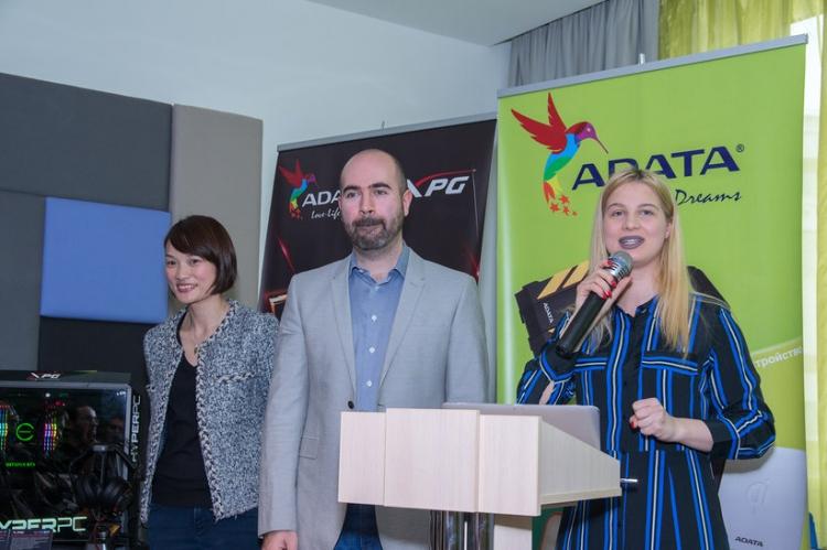 """ADATA представила для российского рынка новые игровые решения"""""""