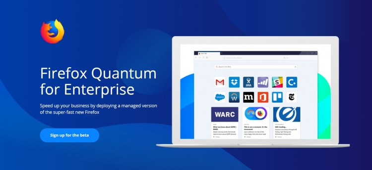 Mozilla выпустила корпоративную версию Firefox Quantum