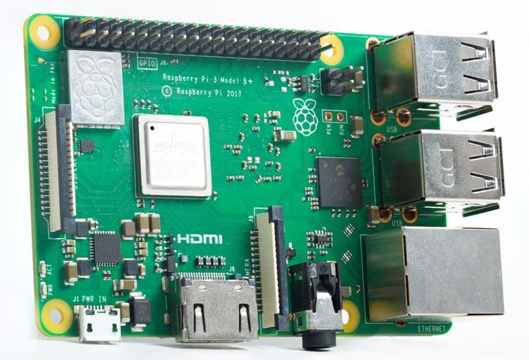 Raspberry Pi 3 Model B+: мини-компьютер с поддержкой Wi-Fi 802.11ac и Bluetooth 4.2
