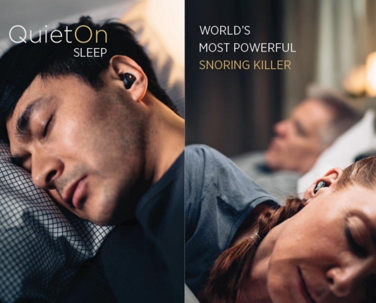 беспроводные наушники Quieton не для музыки а для крепкого сна