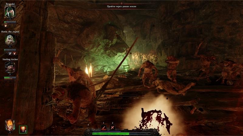 Попасть под волну врагов в узкой пещере — приятного мало, но и не из такого выбирались