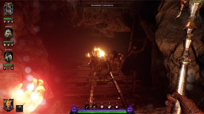 Горящий мех крысолюдов отлично освещает темные коридоры