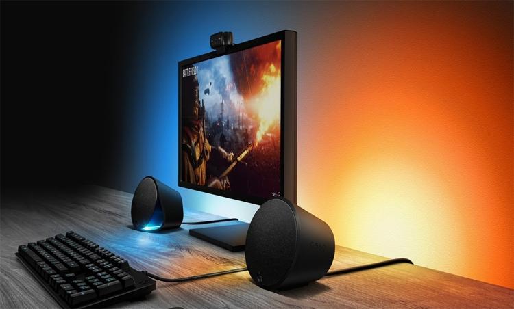 Акустическая система Logitech G560 наделена эффектной подсветкой
