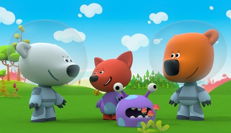 Кадр из мультфильма «Ми-ми-мишки»