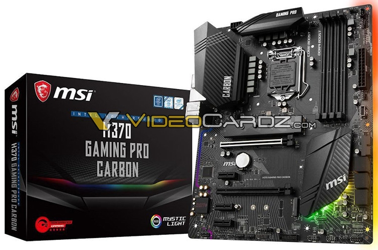 H370 Gaming Pro Carbon — старшая модель на чипсете Intel H370