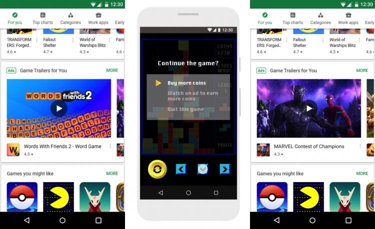 Эксперименты с видеорекламой в игровых приложениях обещают стать для  разработчиков эффективным инструментом для монетизации контента, а также  хорошим ... 283577b346a