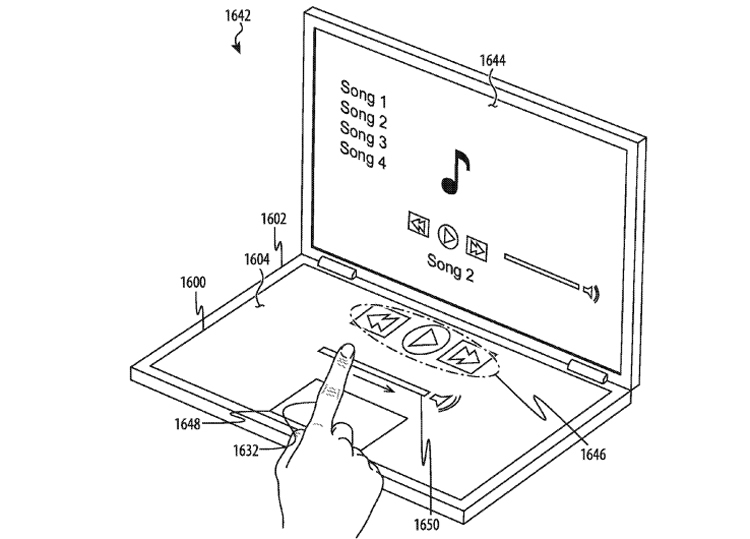 Компьютеры Apple могут обзавестись клавиатурой без кнопок