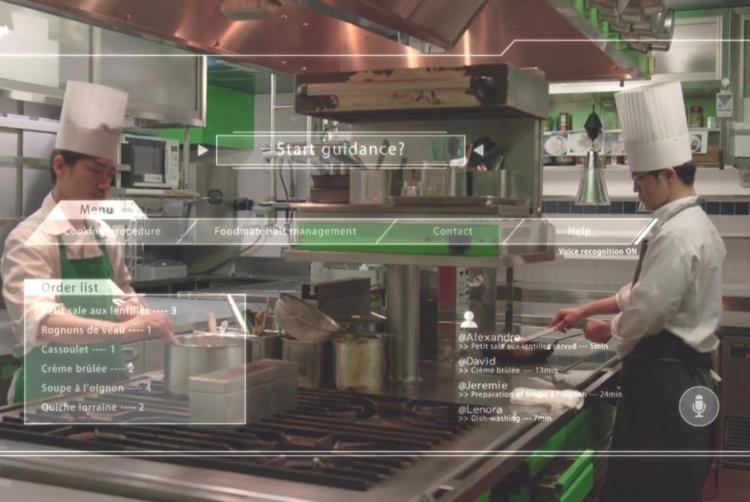 pan2 - AR-очки, искусственный интеллект и IoT: рестораны будущего в представлении Panasonic