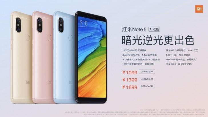 Xiaomi представила модификацию Redmi Note 5 Pro для местного рынка