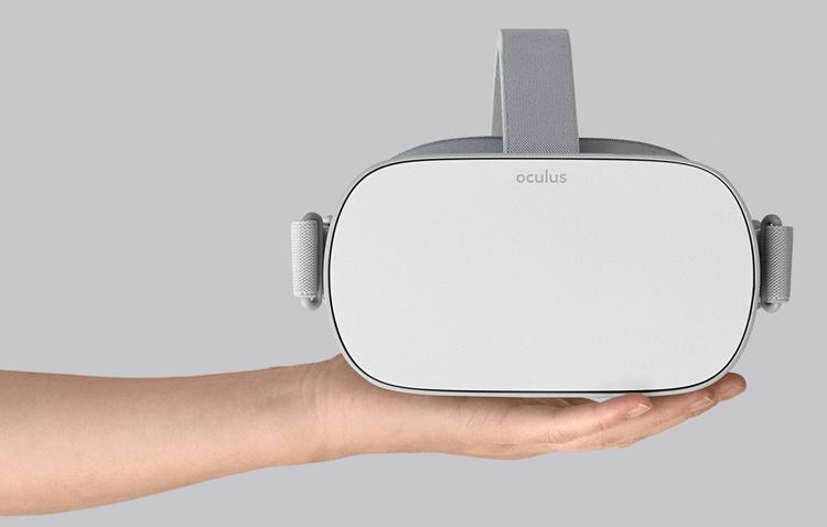 Самодостаточный VR-шлем Oculus Go выйдет 1 мая