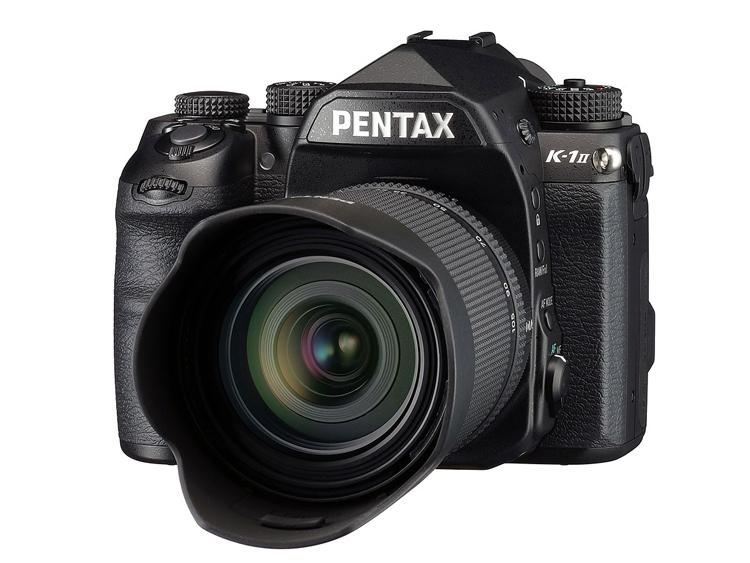 Pentax предлагает обновить камеру K-1 до модели K-1 Mark II