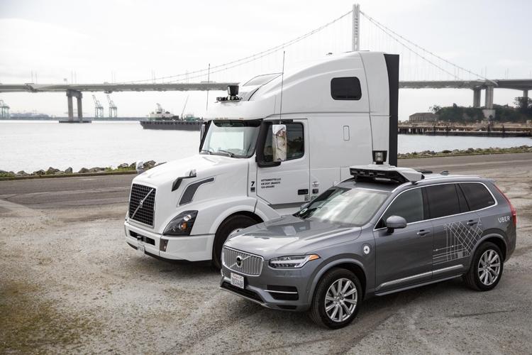 """Uber остановила испытания автономных автомобилей из-за смертельной аварии"""""""